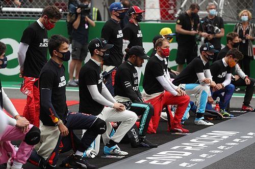 Will F1 drivers continue to take a knee in 2021?