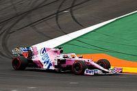 F1: Racing Point detona comissários por reprimenda dupla a Pérez em Portugal, que o deixam próximo de punição