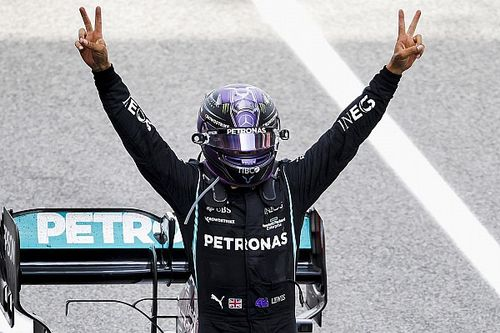 "Hamilton hails ""good gamble"" on strategy after Spanish GP victory"