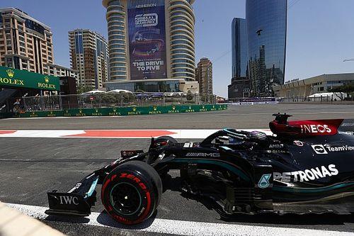 Mercedes F1 no cambiará sus planes 2022 por dos carreras malas