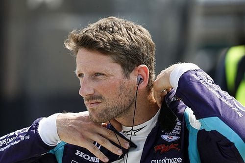 Grosjean najszybszy na Road America