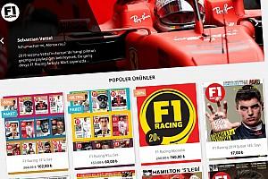 F1 Racing'in yeni mağazası açıldı