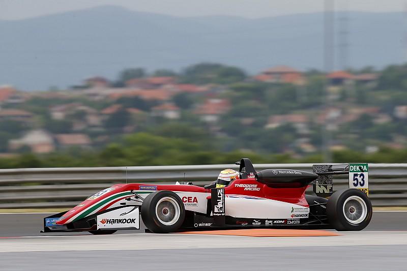Илотт выиграл вторую гонку Ф3 в Венгрии