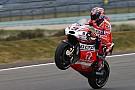 MotoGP Petrucci en tête des qualifs,