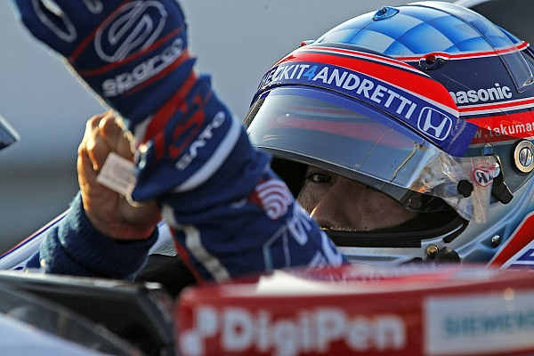 IndyCar Breaking news Sato rejoins Rahal Letterman Lanigan for 2018 IndyCar season