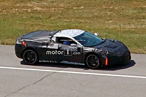 Automotive Breaking news Mid-engined Corvette spied with production sheet metal
