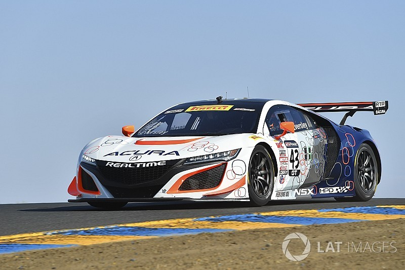 Cameron to make Acura debut in an NSX