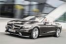 Automotive Mercedes zeigt Facelift-Version von S-Klasse-Cabrio