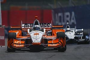 IndyCar Reporte de prácticas Newgarden manda en el warm-up en Toronto