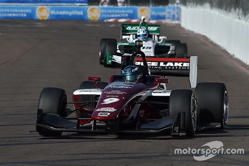 Deux rookies s'imposent d'entrée de jeu en Indy Lights