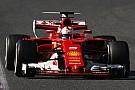 Ferrari: provata l'ala posteriore a cucchiaio sulla SF70H