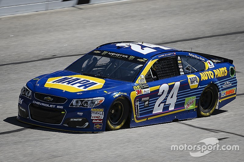 Chase Elliott tops final NASCAR Cup practice at Atlanta