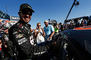NASCAR Cup Interview Truex defends team after LIS failure, clears the air with Harvick