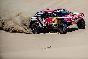 Dakar ステージレポート ダカール2日目:好調子のプジョーが1-2。トヨタのデ・ヴィリエは3番手