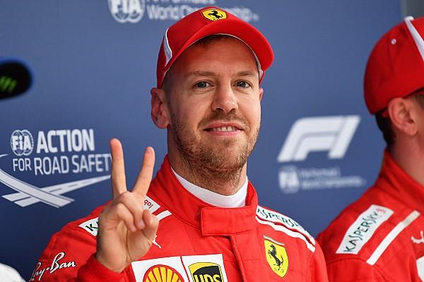 Vettel logra la pole  y Pérez sale en 8°