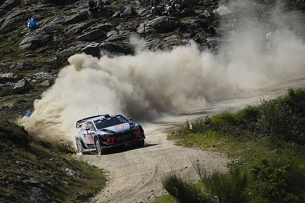WRC Resumen de la etapa Thierry Neuville gana en Portugal y lidera el Mundial