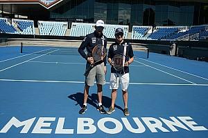 Fórmula 1 Top List VÍDEO: Pérez e Ocon disputam partida de tênis em Melbourne