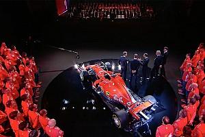 Формула 1 Новость Презентация Ferrari: видео