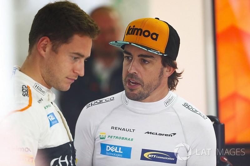 Alonso: Vandoorne closer to me than Raikkonen was