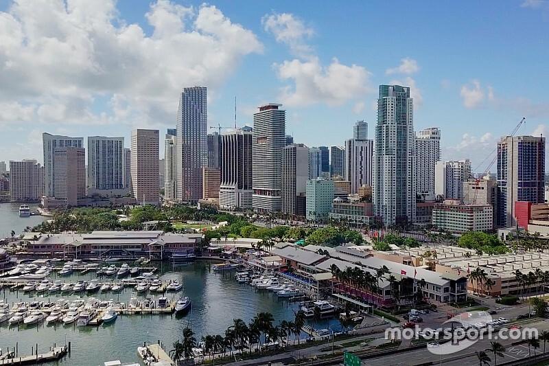 El GP de Miami sigue con problemas