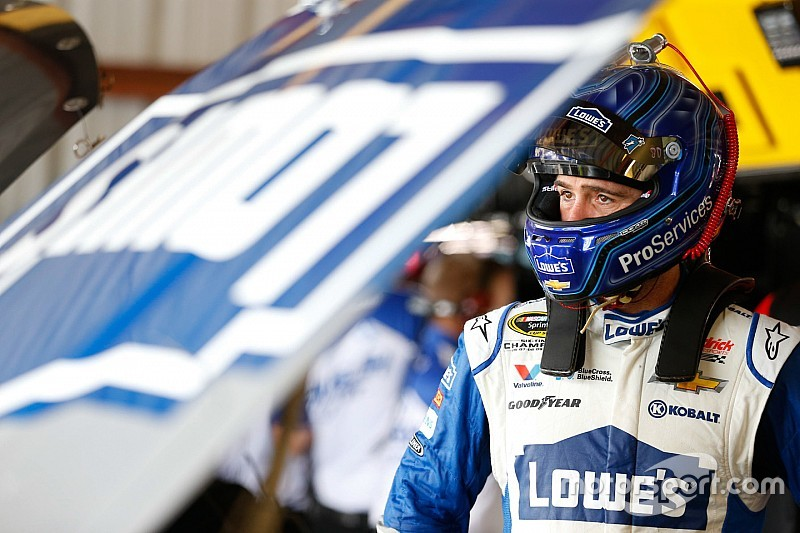 Jimmie Johnson leads final Richmond practice