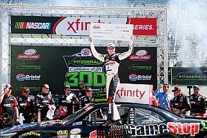 NASCAR XFINITY Reporte de la carrera Erik Jones se lleva la victoria y 100 mil dólares de Bristol