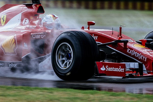 Formula 1 Gallery: Vettel's 2017 Pirelli tyre test at Fiorano