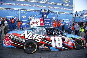NASCAR XFINITY Reporte de la carrera Tras un error del equipo de Keselowski, Busch triunfa en Loudon