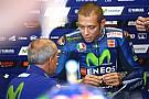MotoGP Rossi a pris la piste, pour un premier test après sa blessure