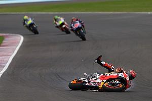 MotoGP Важливі новини Пресинг Віньялеса призвів до падіння Маркеса