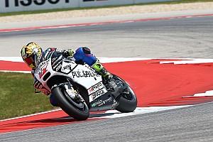 MotoGP Новость Абрагам повредил лодыжку в аварии с напарником на тренировке MotoGP