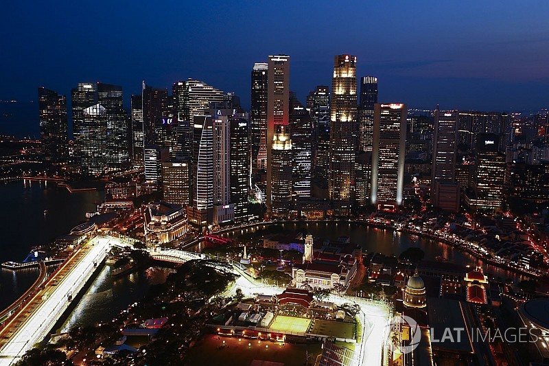 الفورمولا واحد تُجدد عقدها مع جائزة سنغافورة الكبرى لأربعة أعوام