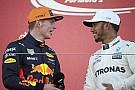 Hamilton: Evolução de Verstappen vai me manter motivado