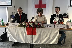 Speciale Curiosità Alex Fontana testimonial della Croce Rossa in Svizzera