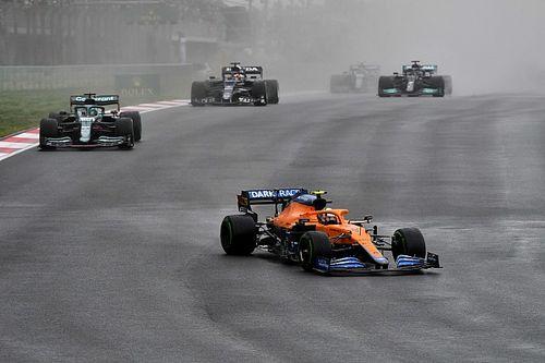 F1: Norris diz que spray do GP da Turquia foi o 'mais assustador'