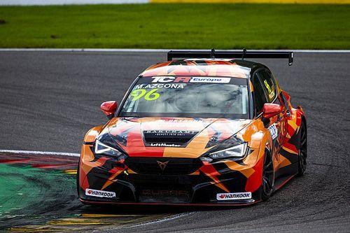 TCR Europe, Spa: Azcona dà una lezione a tutti in Gara 2