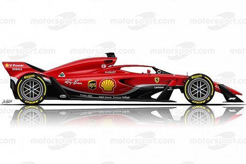 "Ferrari says 2021 F1 concepts ""a bit underwhelming"""