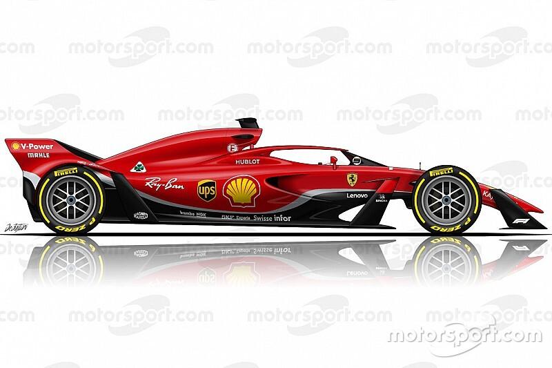 Ferrari says 2021 F1 concepts