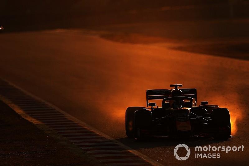 F1バルセロナ公式テスト後半:1日目タイム結果