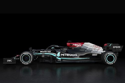 Mercedes staying silent on F1 token spend for W12 car