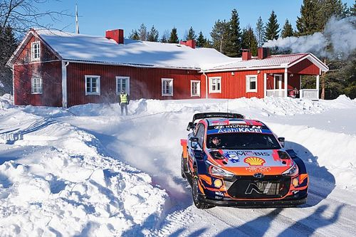 "Tanak ""pushing"" Hyundai for improvements in Arctic Rally win"