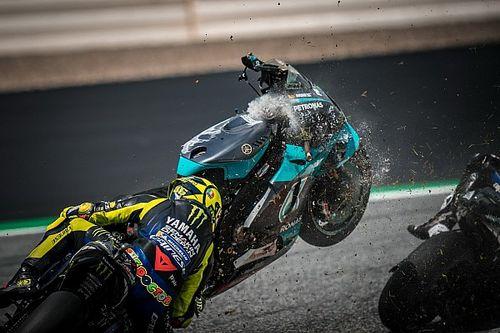 """""""Effrayant, terrifiant"""": Rossi et Viñales réagissent à un """"désastre potentiel"""""""