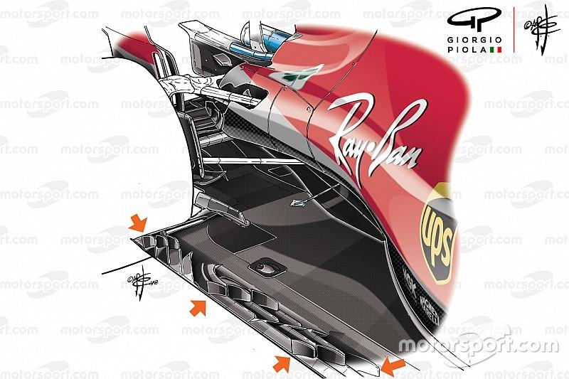 Необычное днище Ferrari: кажется, Скудерия обозначила новую техническую тенденцию в Ф1