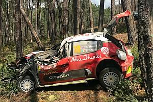 رالي البرتغال: ميك يعتذر لفريقه سيتروين عقب حادثة السبت