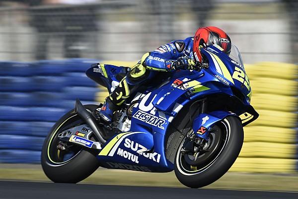 """MotoGP Nieuws Iannone baalt van crash: """"Had weer op podium moeten staan"""""""