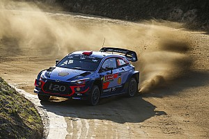 WRC Leg report Portugal WRC: Sordo leads, drama for Toyota