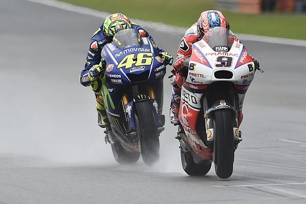 """MotoGP Petrucci también se queja de los neumáticos: """"La moto era inconducible"""""""
