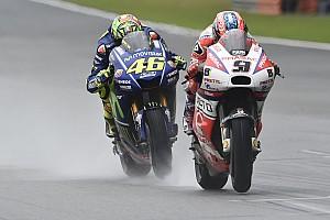 """MotoGP Noticias de última hora Petrucci también se queja de los neumáticos: """"La moto era inconducible"""""""