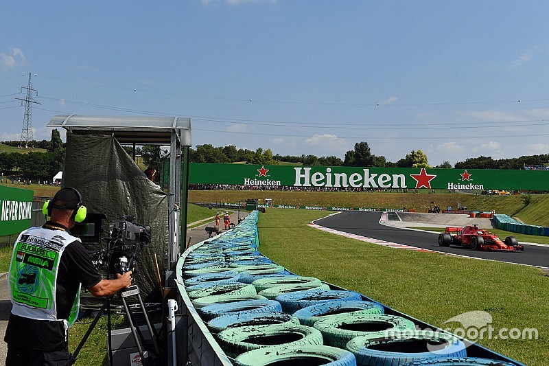 F1 to rethink TV camera positions for 2019
