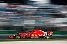 Формула 1 Феттелю не понравилось поведение машины в тренировках